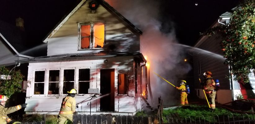 Fatal fire in Lead