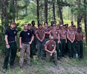 Job Corps Fire Crews Team Up During Sturgis Motorcycle Rally