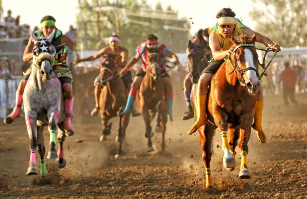 Faith Stock Show & Rodeo will host the Horse Nations Indian Relay Council Races this weekend at the 108th celebration