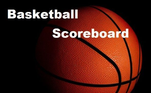 Basketball Scoreboard for December 22
