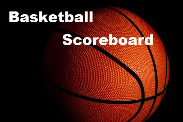 Basketball Scoreboard for February 8