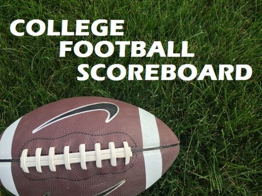 College Football Scoreboard 1021