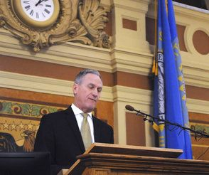 Daugaard highlights West River projects in final budget speech