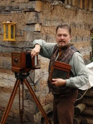 Tin-type photographer Dave Rambow will present during Sturgis History Days, June 15-17, 2018.