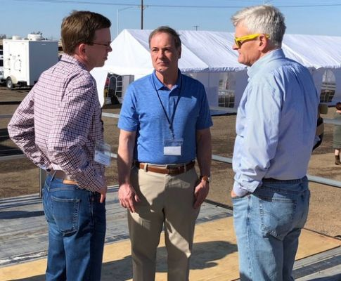 SD Congressman Dusty Johnson is visiting the southern border to see first-hand the problems being faced.