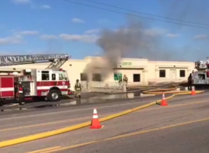 Fire at Freed's in Rapid City