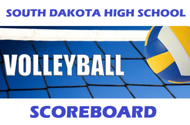Volleyball Scoreboard for Monday, October 30