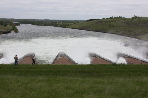 Missouri River Dam Power