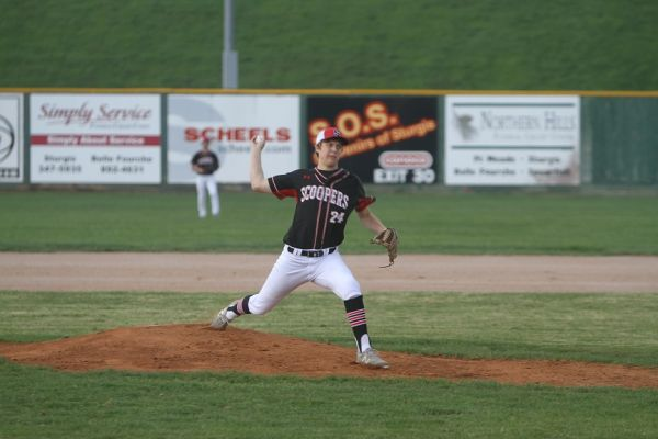 Josh West pitches against RC Central Monday night
