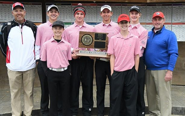 State AA team champs Sioux Falls Lincoln