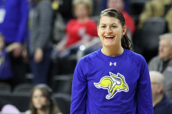 31357a0b0e155 Mitchell native Macy Miller chosen in WNBA draft. UNDATED - South Dakota  State women s basketball career scoring leader Macy Miller was selected in  the ...