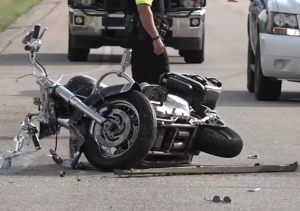 Motorcycle Crash on Highway 16