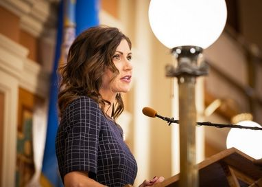 Gov Noem delivers her budget address Tuesday, Dec. 3.