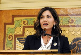 Noem delivers her first State of State speech