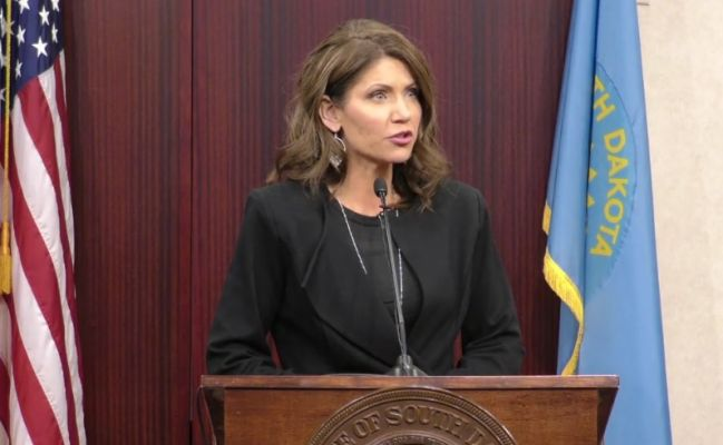 Governor Kristi Noem talks Keystone XL Pipeline