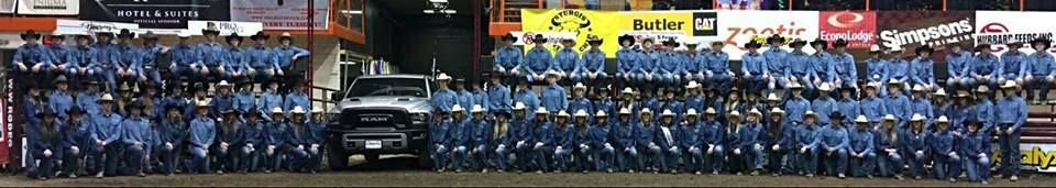 The three top point earners from each region in the state qualify for a spot at the 20X South Dakota High School Rodeo held during stock show week.