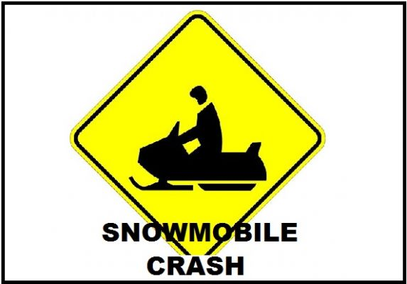 Fatal Snowmobile Crash