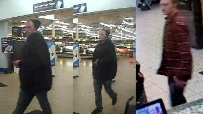 video captures of suspect in Spearfish burglaries