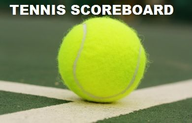 Tennis Scoreboard for May 11