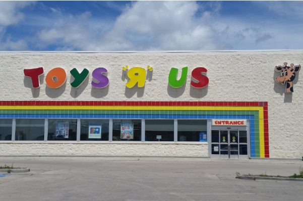 Toys R Us in Rapid City. The toy company announced closures Tuesday, but had not said which stores would be closing.