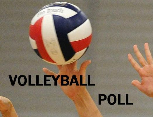 Weekly Volleyball Poll for week of October 1