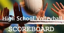 Volleyball Scoreboard for October 11